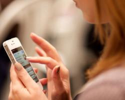 Andelen användare som söker med mobila enheter